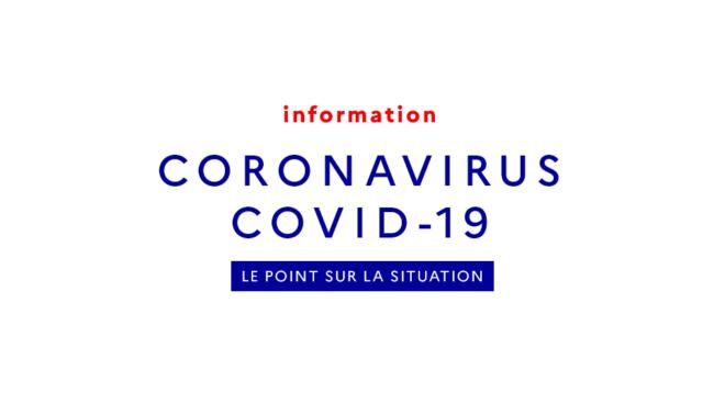 Information : CORONAVIRUS COVID-19