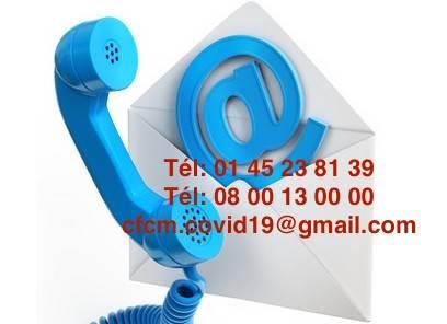 Covid 19 Plateforme d'assistance téléphonique du CFCM