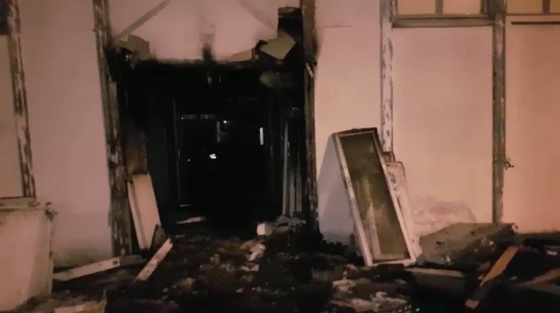 La mosquée Omar ( Bron 69500) victime d'un incendie d'origine criminelle