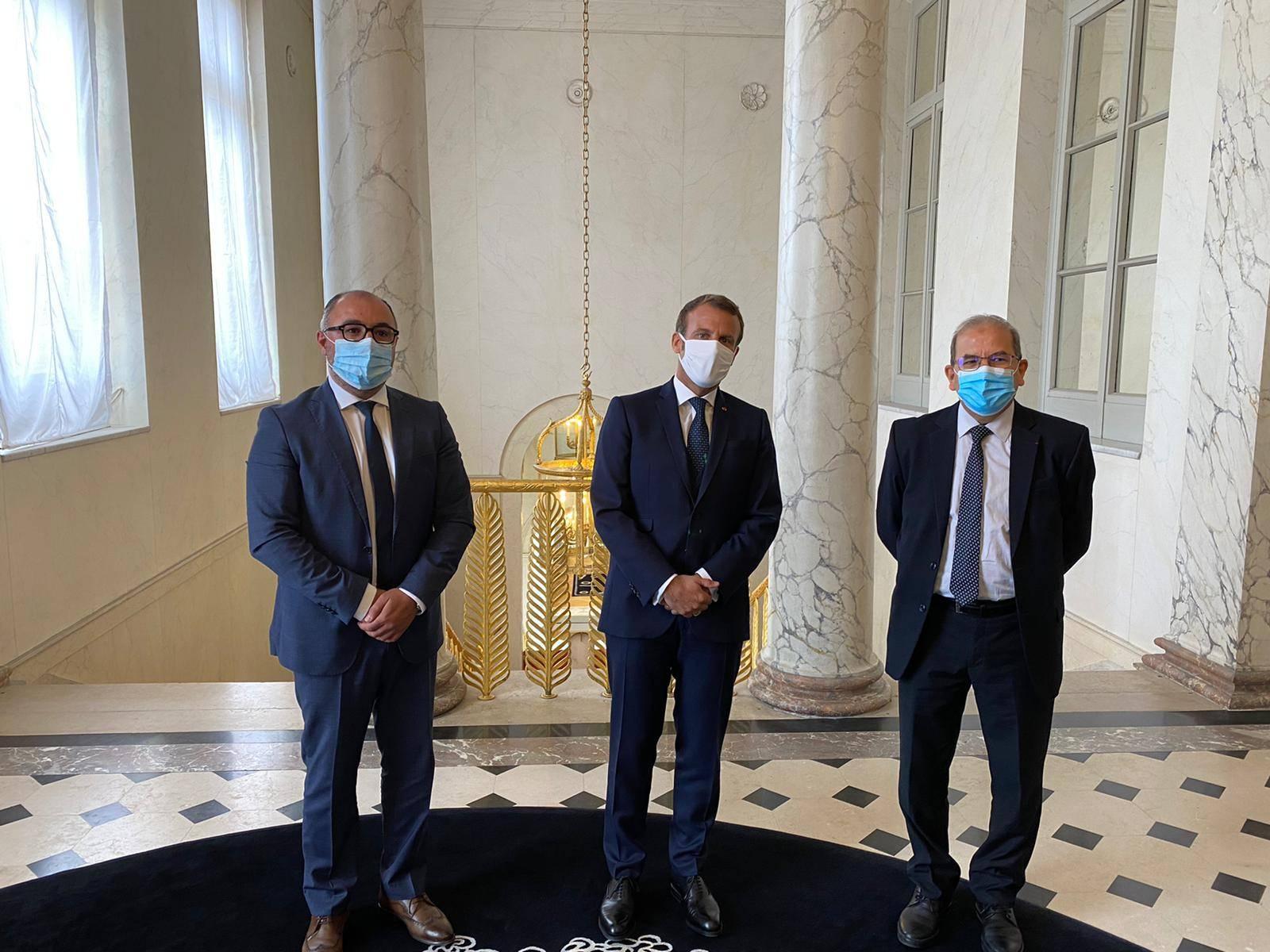 Rencontre du CFCM avec le Président de la République M. Emmanuel Macron